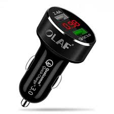 <b>Olaf car usb</b> charger quick charge 3.0 2.0 mobile phone charger 2 ...