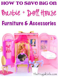 how to save big on barbie and doll house furniture and accessories tips at thefrugalgirls barbie furniture for dollhouse