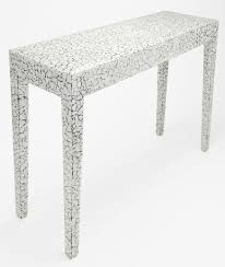 Console Table in <b>Cracked Eggshell</b> by SIMON ORRELL at Bespoke ...