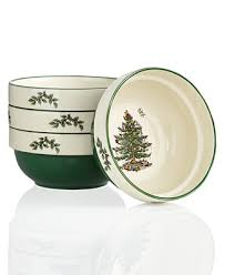 Spode <b>Christmas</b> Tree <b>Set of 4</b> Stacking Bowls & Reviews ...