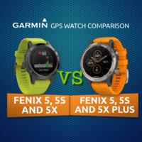 Infographic: <b>Garmin Fenix</b> 5/5S/5X vs <b>Fenix</b> 5/5S/<b>5X Plus</b> Comparison