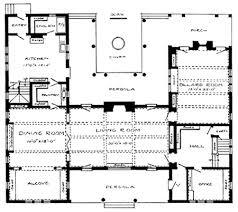 Craftsman House PlanGround Floor of Craftsman House