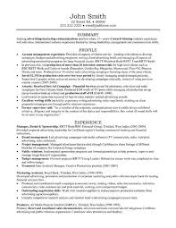 resume examples account manager resume examples account manager central head corporate communication resume