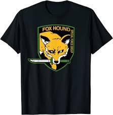 Amazon.com: <b>Fox Hound Foxhound Special Force</b> Group T-Shirt Tees