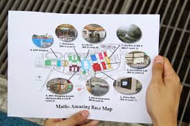 discover nyp seg s maths amazing race the students were given 10 minutes to solve the mathematics problem at each station there were also student helpers and lecturers at each station to note