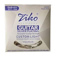 <b>Ziko DUS</b> 011 <b>Acoustic</b> Guitar Strings at Rs 200 /piece   Guitar String ...