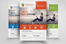 business training flyer template flyer templates on creative market