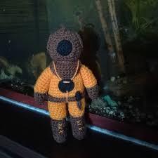 <b>Водолаз</b>. <b>Diver</b> .Вязаный водолаз. Дайвер. Подарок водолазу ...