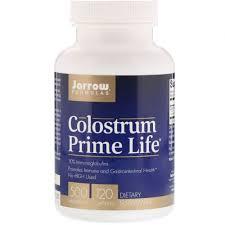 Jarrow Formulas, <b>Молозиво Prime Life</b>, <b>500</b> мг, 120 капсул ...