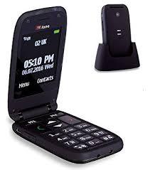 TTfone Meteor Big Button Flip Clamshell EE Pay As You Go UK SIM ...