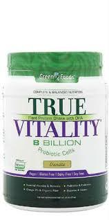 Buy Green Foods™ - <b>True Vitality</b>™ Vanilla - 25.2 oz - at Botanic ...