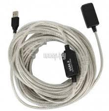 <b>Аксессуар</b> VCOM USB 2.0 AM-AF 25m VUS7049-25M