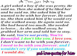 Sad Quotes Tumblr About Love That Make You Cry about Life for ... via Relatably.com