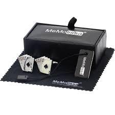 MeMolissa Display Box Cufflinks 4A <b>Poker Cufflinks Male</b> Luxury ...