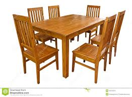 dining table and chairs isolated stock photos image 31072313 art dining room furniture