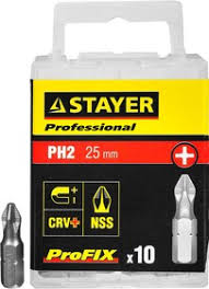 "26201-2-25-10_z01, Биты <b>STAYER</b> ""<b>PROFESSIONAL</b>"" ProFix ..."