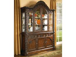 furniture t north shore: north shore china cabinet with glass doors by millennium