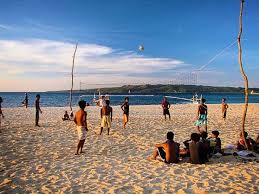 Image result for volleyball in boracay