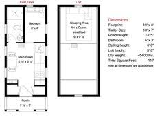 images about Tumbleweed Tiny House Ideas on Pinterest   Tiny    Lusby floorplan Tumbleweed Homes