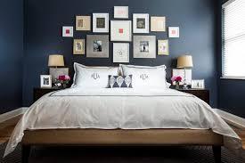 dark blue bedroom design decor ideas with photo frame decoration bedroom design ideas dark