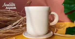 """Деревянная игрушка """"<b>Чашка с блюдцем</b>"""" в магазине «Ponchi Store"""