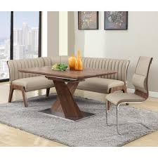 room buy breakfast nook set: nelson corner breakfast nook set with bench driftwood dining table sets at hayneedle