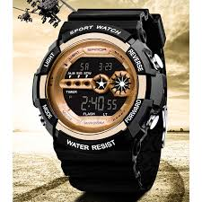 SANDA <b>Digital Sports Watch</b> Men Chronograph Men's Wrist ...