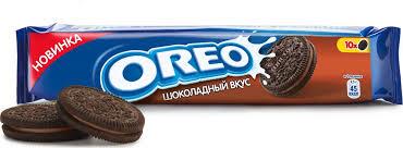 <b>Oreo печенье</b> с какао и начинкой со <b>вкусом шоколада</b>, 95 г ...