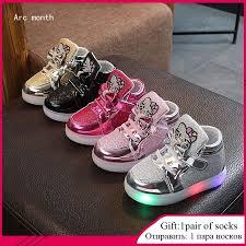 Fashion <b>New Spring Autumn</b> Children Glowing Sneakers Kids ...