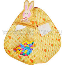 <b>Игровая палатка Кролик</b> + 100 шаров <b>Ching Ching</b>. Арт. CBH-12 ...