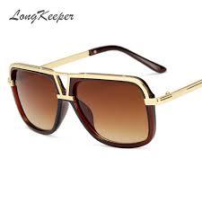 <b>LongKeeper</b> Men's Sunglasses New <b>Big Frame</b> Goggle Summer ...