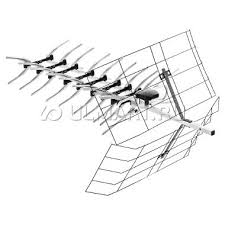 ТВ <b>антенна Рэмо BAS X1142</b>-P SHORT наружная, 4369327 ...