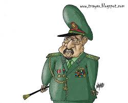 Image result for HASSAN AL-BASHIR CARTOON