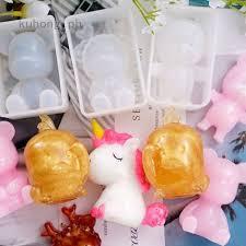Unicorn <b>Epoxy Mold Silicone Mould</b> Resin Epoxy Manual DIY Craft ...