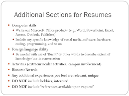 functional resume format functional resume format optional resume    optional resume sections additional skills killer resume hack   x  killer resume hack