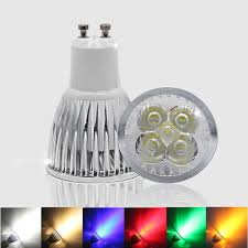 10pcs GU 10 LED Spotlight Dimmable <b>GU10 LED Lamp</b> 3W 4W 5W ...