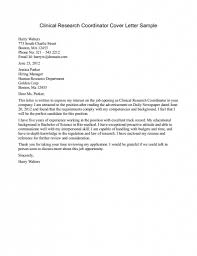 cover letter for research template cover letter for research