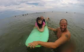 surf lessons in virginia beach give kids disabilities sense surf lesson