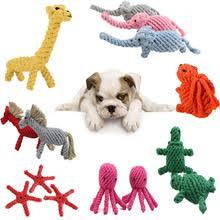 <b>Веревка для</b> собак, игрушки в виде животных с двойным узлом ...