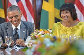 Image result for obama jamaica images