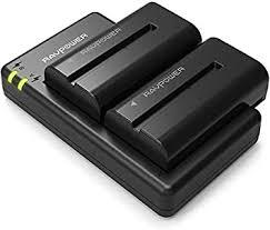 NP-F550 Battery RAVPower 2 Pack 2900mAh Camera: Amazon.co ...