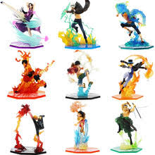 Best value <b>One Piece</b> Set Luffy <b>Ace</b> Sabo – Great deals on One ...