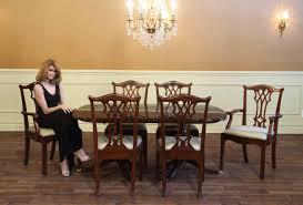 Chippendale Dining Room Table Antique Reproduction Solid Mahogany Chippendale Dining Chairs