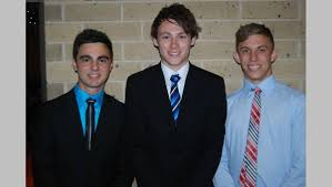 st mark s college port pirie photos the recorder james pisani joel pryor and steve athanasos
