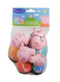 <b>Игровой набор</b> Семья Пеппы (4 фигурки) (пластизоль) (<b>Peppa Pig</b> ...