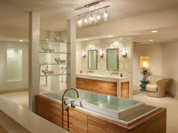 extraordinary bathroom lighting fixtures in modern bathtub completed with bathtub and double sinks coupled by mirror bathtub lighting
