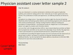 physician assistant cover letter examples success physician physician assistant cover letter examples success medical assistant cover letter example