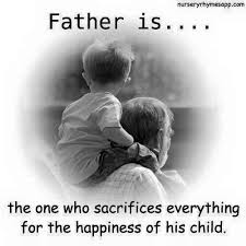 Image result for father's sacrifice