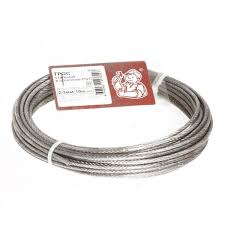 <b>Трос стальной</b> в оболочке PVC <b>2/3мм 10м</b> - купить в Санкт ...
