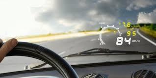 <b>Проекция</b> на лобовое стекло автомобиля
